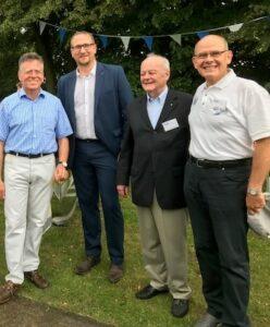 Sommerfest und Ehrung des neuen Ehrenmitglieds Dr. Walter Leidinger
