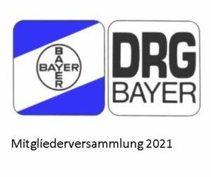 Die Mitgliederversammlung der DRG 2021 findet statt am 11. September 2021um 16 Uhr im Bootshaus Piwipp